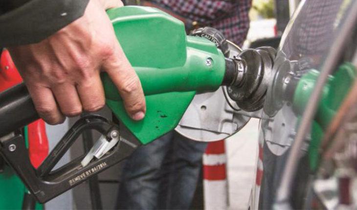 Precio de gasolina y diésel para hoy lunes
