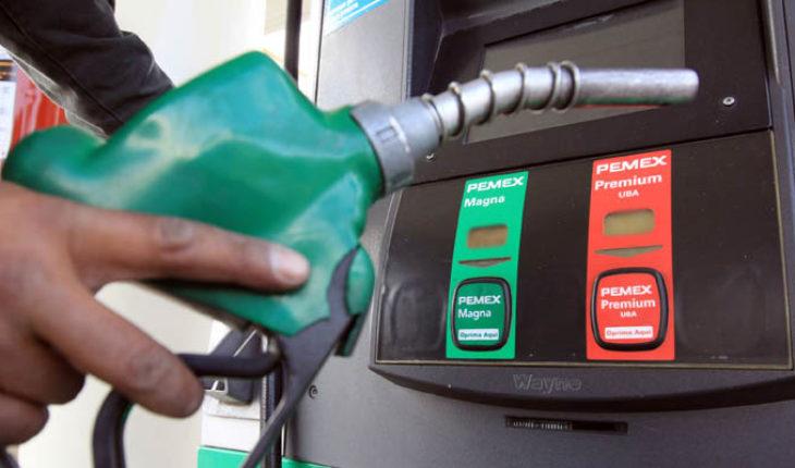 Precios de gasolina y diésel en Michoacán