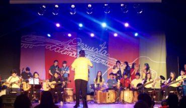 Presentación Orquesta estudiantil de Castro en Centro Cultural La Moneda