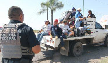 Primera caravana llega a Guanajuato; segundo grupo va a Puebla