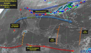 Pronostican tormentas puntuales fuertes, actividad eléctrica y posibles granizadas en el noreste del país