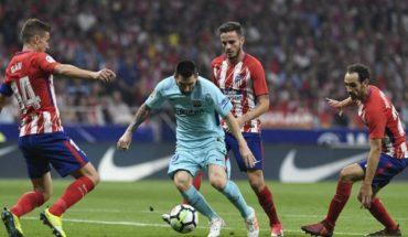 Qué canal juega Atlético de Madrid vs Barcelona, La Liga 2018