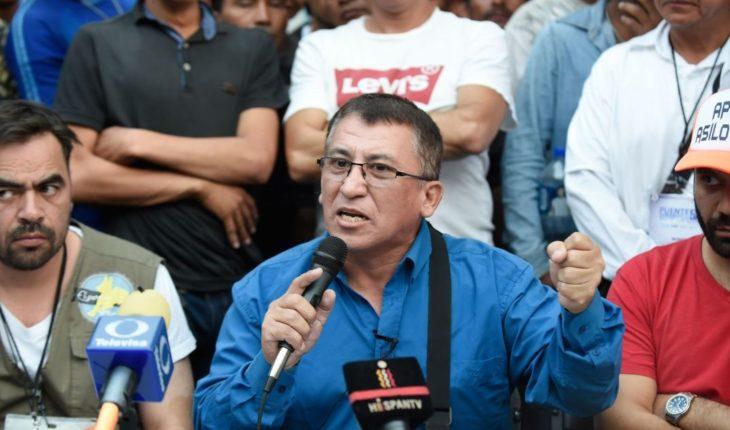 """Rechaza exdiputado hondureño haber """"incitado"""" a caravana"""