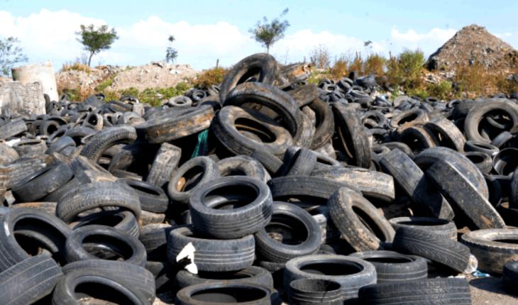 Recogen de las calles más de 45 mil llantas para reciclaje