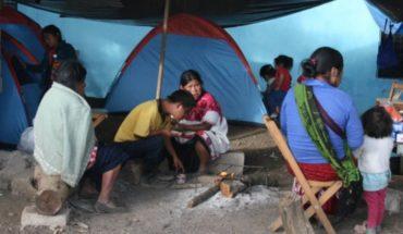 Reportan 300 desplazados tras enfrentamiento en Chiapas