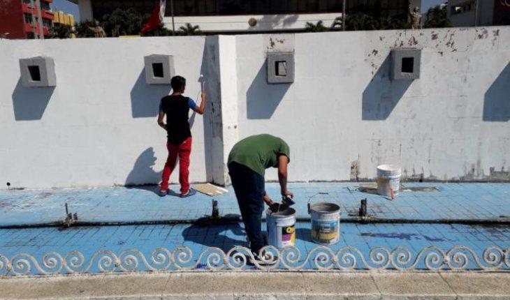Salvadoreños agradecen a Tapachula el apoyo realizando brigadas de limpieza