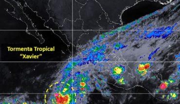 Se forma la tormenta tropical 'Xavier' en el Pacífico