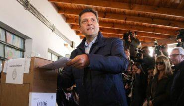 """Sergio Massa: """"Nosotros vamos a competir contra Cristina Kirchner"""""""