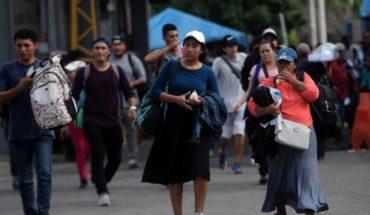 Sin ilusiones abandonan viaje 268 salvadoreños de caravana