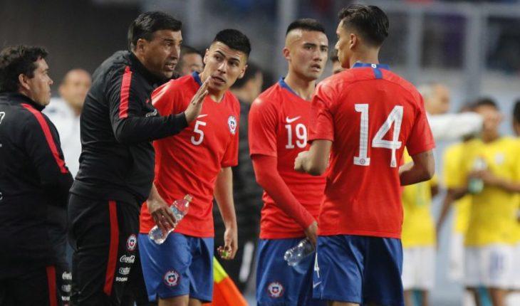Sub 20 prepara el sudamericano enfrentando a Uruguay y Paraguay