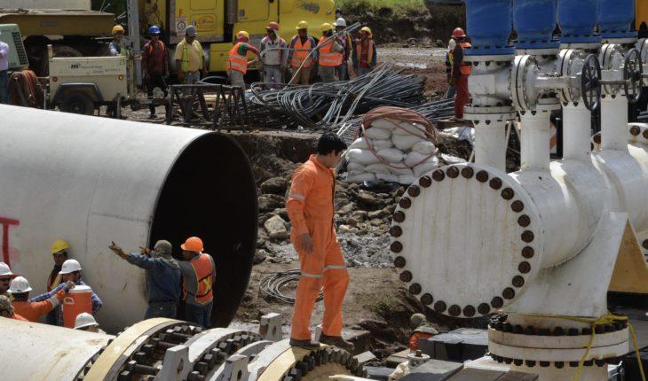 Suministro de agua se restablecerá hasta el jueves en CDMX