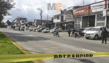Taxista es asesinado a balazos en Uruapan, Michoacán