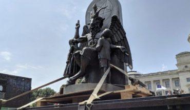 Templo Satánico demanda a Netflix por plagiar estatua diabólica