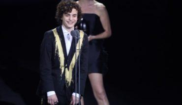 Toto Ferro y un duro mensaje para Trump y Macri tras ganar en los Premios Fénix