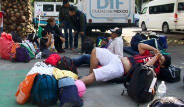 Trasladan a casi 600 migrantes a la Casa del Peregrino