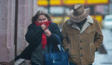 Un frente frío y una masa de aire polar provocarán bajas temperaturas