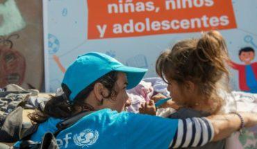 Unicef ha llevado casi 130 toneladas de ayuda a Venezuela