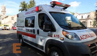 Unidades de la SSM, en guardia y operativo especial por Desfile del 20 de noviembre, en Morelia