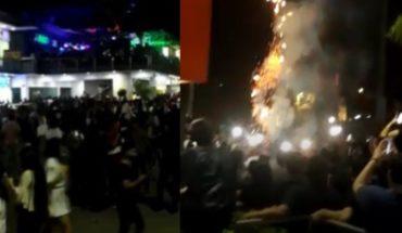 VIDEO:Así fue el desenfrenado festejo de Halloween en Culiacán