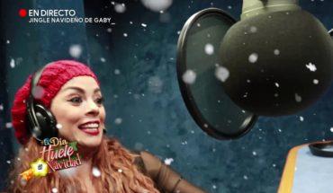 El jingle de Gaby para esta Navidad | Acábatelo