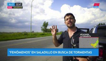 """""""Fenómenos"""" en Saladillo, a la búsqueda de tormentas"""