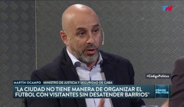 Martín Ocampo sobre el Superclásico con visitantes