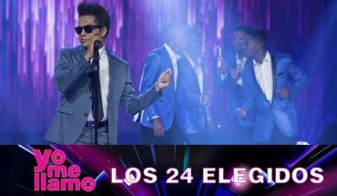 Yo Me Llamo Bruno Mars – Marry You – Los 24 elegidos
