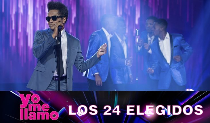 Yo Me Llamo Bruno Mars – Marry You – Los 24 elegidos