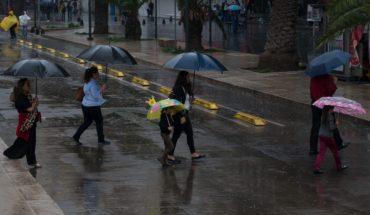 Xavier, la inesperada tormenta que amenaza al Pacífico