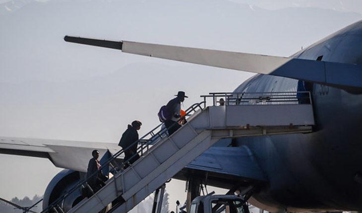 101 chilenos retornarán al país desde Venezuela en el mismo vuelo abordado por haitianos