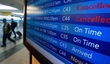 Aerolíneas Argentinas canceló todos sus vuelos del lunes por el paro