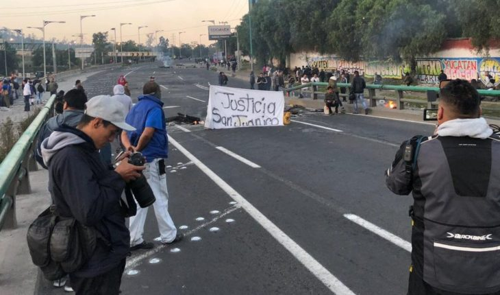 An arrest in the limits of CDMX causes to residents of the State of Mexico close the Mexico-Pachuca