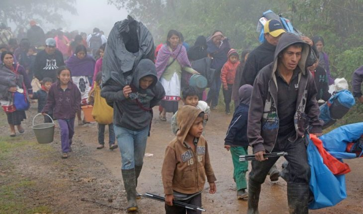 An entire community flees violence in Chiapas