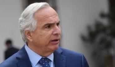 """Andrés Chadwick ante solicitud de diputados UDI por convocar al Cosena: """"No está ni previsto ni planificado"""""""
