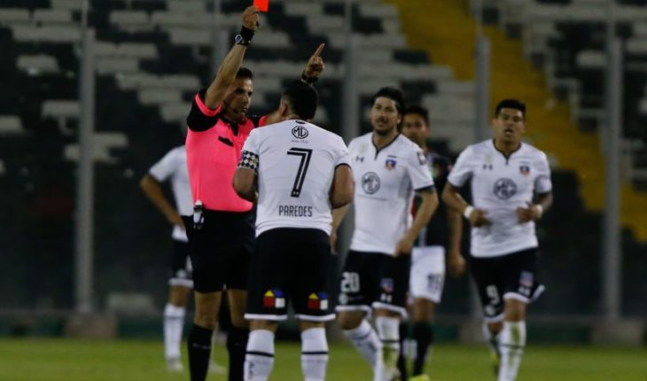 Arbitration report revealed the insult of Esteban Paredes Piero Maza that ended with his expulsion