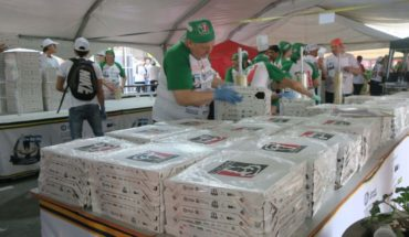 Argentine cooks elaborate 11,287 pizzas in 12 hours