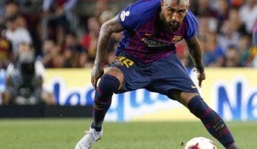 Arturo Vidal was part of agonizing victory over Rayo Vallecano FC Barcelona