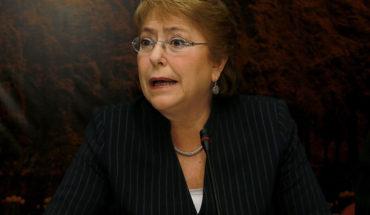 """Bachelet criticó """"criminalización"""" de las protestas en Nicaragua"""