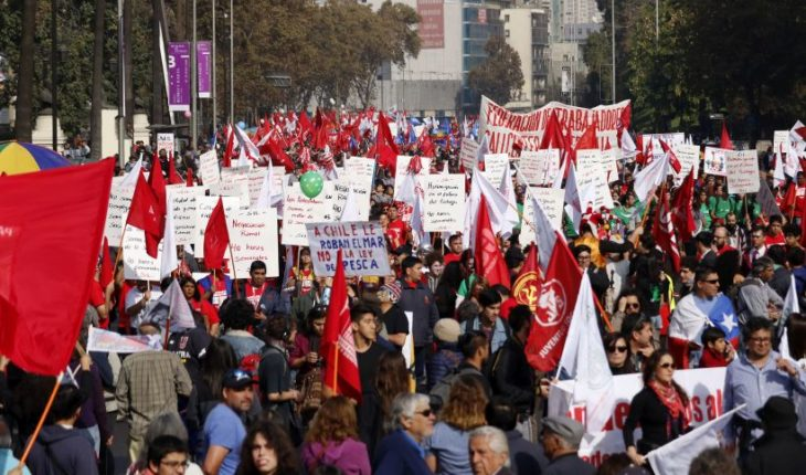 CUT called for national March in rejection of flagship projects of the Government