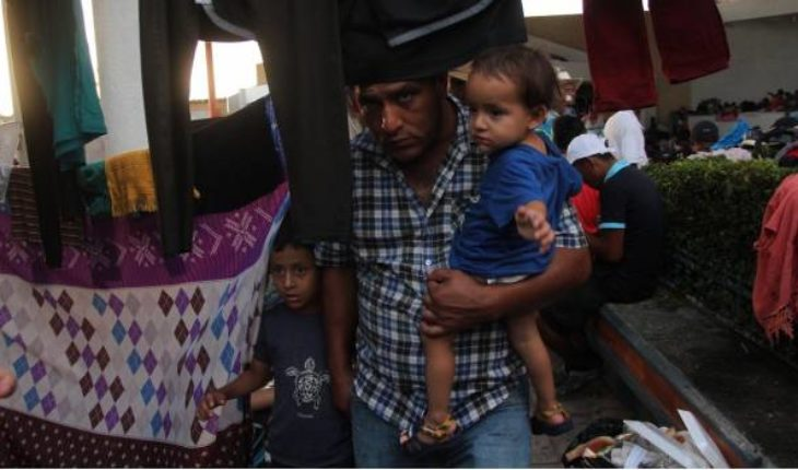 Central American migrants receive economic support from Mexican Government