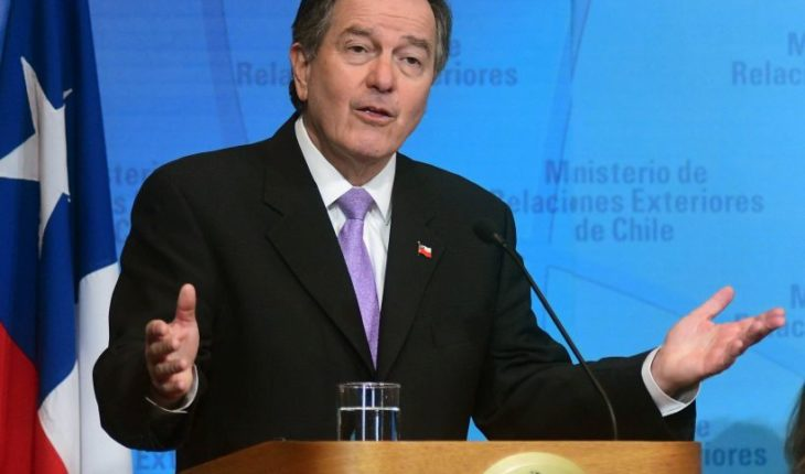 """Chancellor: """"crime and sentencing of Palma Salamanca took place in a democratic Chile"""""""