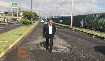 City of Morelia lets go budget of 90 billion pesos for road infrastructure