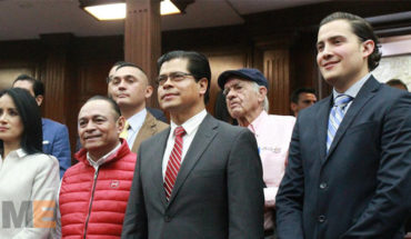 Climbing 5.6 to 6, score on transparency of the Congress from Michoacán, commitment to the new Coordinator