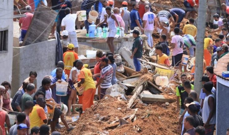 Dead and missing, one of the worst catastrophes in Brazil