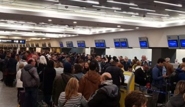 Delays and cancellations in Aeroparque by measure of Union strength