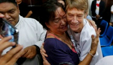 Deported nun after 27 years of being missionary