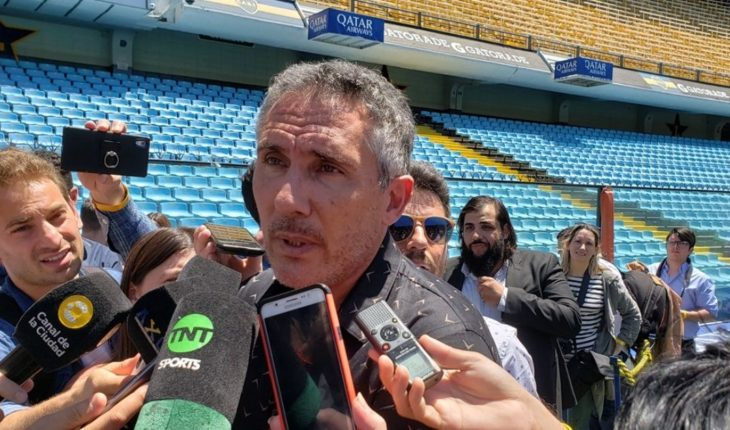 Diego Cagna Bank to as substitute Carlos Tévez Pavón in mouth