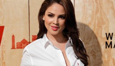 """Eiza González revives rumors that it will be """"The Little Mermaid"""""""