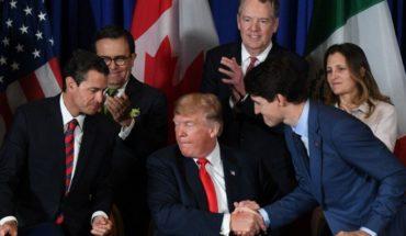 En su último día, Peña firma el T-MEC junto a Trump y Trudeau