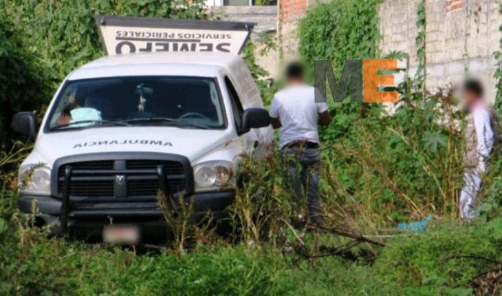 Encuentran muerto a bebé recién nacido en un predio en Tangamandapio